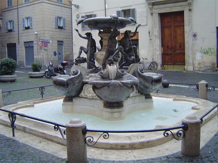 "Roma Fontana Delle Tartarughe ""fontana Delle Tartarughe"""
